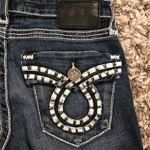 Big Star Liv Flap Pocket Slim Boot Jeans *